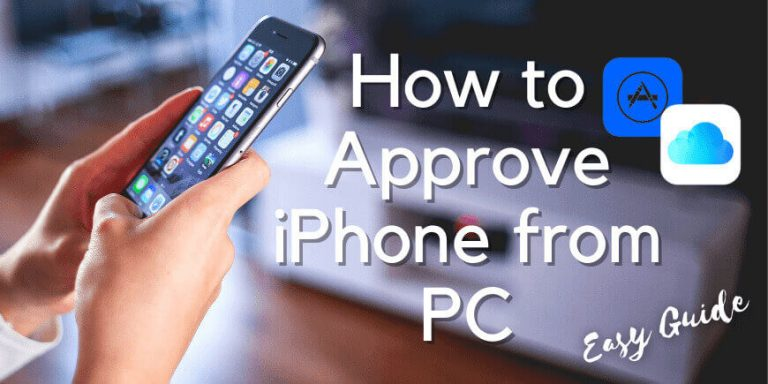 How to Approve iPhone from PC
