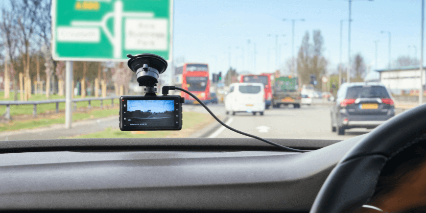 Use of GPS on DashCam